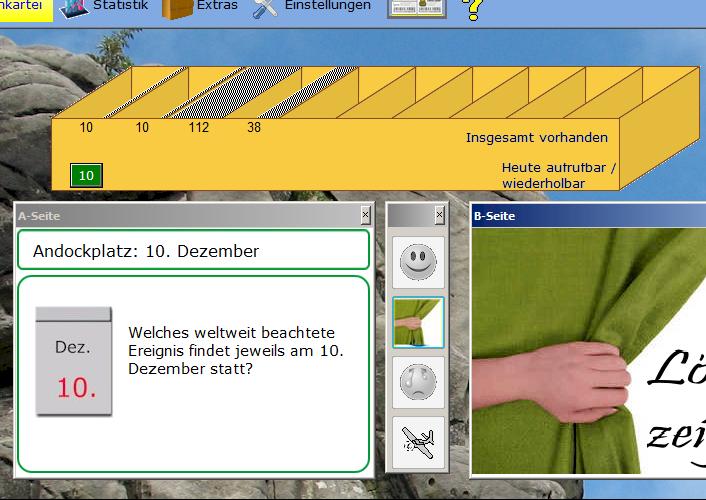 System zum Einprägen von Kalender-Daten