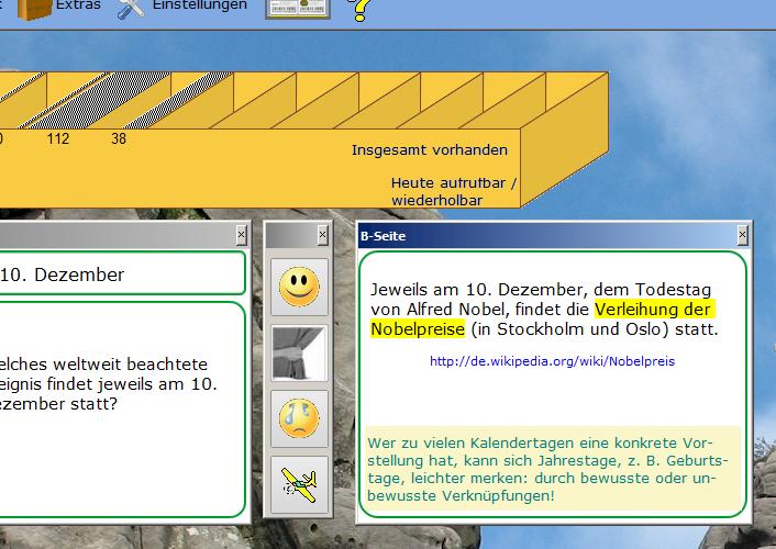 Beide Abbildungen zeigen die virtuelle PC-Lernbox.